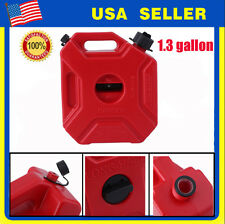 1.3 Gallon 5L Gas Container Oil Pack Fuel Can w/ lock, Jeep,ATV,UTV,Polaris RZR