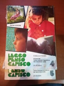 Leggo penso capisco 4 e 5 - S.Salucci,L. Favero - La scuola - 1988 - M