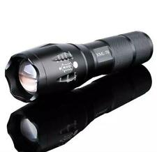 Tactical CREE XML-T6 LED Flashlight Torch Lamp Zoomable Portable uses 18650 AAA