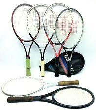 Mezclados Clásicos Lote Usado Hombre Raquetas de Tenis Spectrum Comp 110 Wilson
