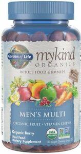 mykind Organics Mens Multi Gummies by Garden of Life, 120 count