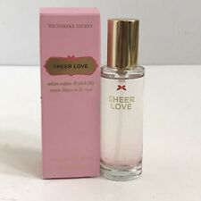 NEW Victorias Secret SHEER LOVE EDT EAU DE TOILETTE Perfume Body Spray Mist 1 oz