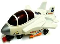 Vintage Go! Go! Vehicle Peace Force Shooter Plane - Lights Up & Sound Very RARE