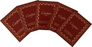 Cartier Watch Operating Instructions Book Booklet Manual -Pick 1 From Selection