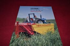 New Holland 472 474 488 489 495 Haybine Mower Conditione Dealer's Brochure YABE6