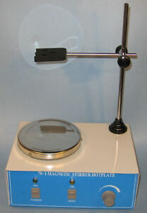 New electric magnetic stirrer mixer w stir bars spin bar fast ship from US