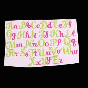 26 Capital&Lowercase Alphabet Metal Dies 26 Letters Cutting Dies Scrapbooking