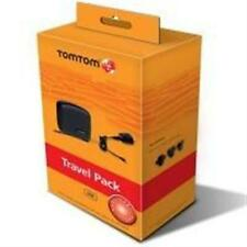 Original TomTom One Viajes Paquete Cargador de viaje+Hardcase NUEVO