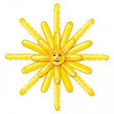 Balloon Sun Design 120 cm 26 Balloons to make up the Sun Yellow