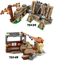 🔹NEW🔹 Lego Star Wars 75139 & 75148 Combo Sets 🔹NO MINIFIGURES🔹