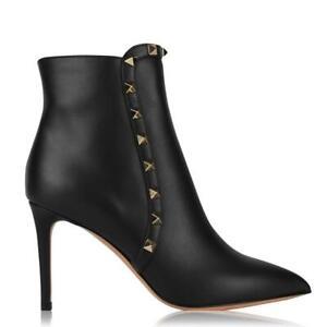 Valentino Garavani Rockstud Ankle Boot 37 EU / 4 UK Black rrp £775-