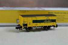"""Brawa N 67430 Gedeckter Güterwagen G10 """"Libella"""" DB Epoche III, Neuware."""