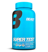 Super Test by Beast: Performance Enhancing Testosterone Booster, 180 Capsules