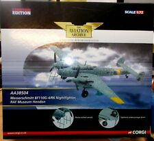 Corgi Aviation 1/72 AA38504 Messerschmitt Bf 110 G-4 R6 Nightfighter RAF Museum