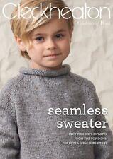 CLECKHEATON SEAMLESS SWEATER KIDS SIZE 2-10   #1010  - PATTERN LEAFLET