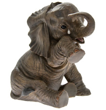 Crying Tears Baby African Elephant 'Missing You' Statue Figurine