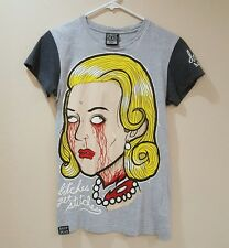 EUC Drop Dead Dropdead Bitches Get Stitches Guys Mens X-Small XS Rare HTF 2010