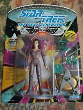 Vintage Bandai Star Trek Figure Deanna Troi TNG The Next Generation MOC