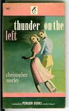 THUNDER ON THE LEFT by Christopher Morley, rare US Penguin gga pulp vintage pb