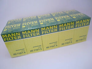 10 Piece Mann Oil Filter HU718/1k