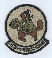 125th FIGHTER SQUADRON desert patch