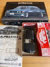 Fujimi 1/24 BMW Alpina C1-2.3 Inch Up Aero Series Black Plastic Model Tracking n