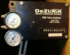 PMV P-1200 Pneumatic Positioner for DeZurik Kieley & Mueller Control Valve