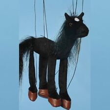 "BABY BLACK HORSE  Marionette #WB352B ~16"" ~FREE SHIPPING in USA ~ Sunny Puppets"