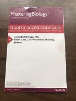 MASTERING BIOLOGY with Pearson eText Student Access Code Card Campbell 10/e New