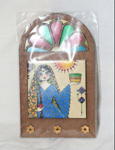 Persian Authentic Hand Made Key Holder- Stain Glass Effect