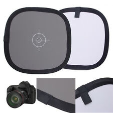 """12"""" 2 in 1 18% Gray + Pure White Foldable Balance Grey Focus assist Card 30cm"""
