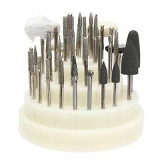 New 41Pcs Dental Lab Silicone Rubber Rotary Tungsten Steel Polishing Burs 2.35mm