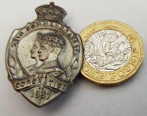 1937 Coronation Lapel Badge. Excellent condition.