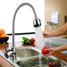 Kitchen Swivel Spout Single Handle Sink Faucet Pull Down Spray Mixer Tap