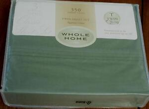 Whole Home 350 Thread Count Egyptian Cotton  Sheet Set - CHOOSE SIZE- BRAND NEW
