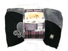 Couchage, paniers et corbeilles lavable en machine gris en polyester pour chien