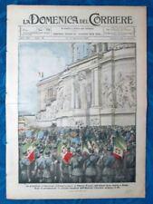 La Domenica del Corriere 14 novembre 1920 Vittorio Veneto- Philadelphia- Harding