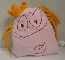 """Oliver My Own Monster Pink Plush Pillow North American Bear Co 10"""" 3175 2007"""
