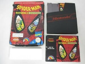 Spider-Man: Return Of The Sinister Six - Nintendo NES Game Boxed Complete