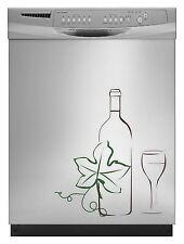 Wine Bottle Sticker Decal for Dishwasher Refrigerator Washing Machine Stove Dorm