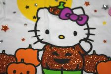 New Hello Kitty Shirt size 12 months Halloween Sparkle Pumpkins -NWT -PPX