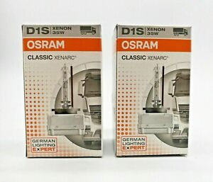 2x New OEM BMW 1 2 3 4 5 6 7 Series Xenon D1S Bulbs Set HID Light Lamp