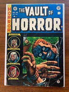Vault of Horror (1950 E.C. Comics) #34