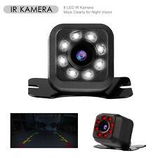 8 LED 170°HD Auto Rückfahrkamera Nachtsicht IR Einparkhilfe Autokamera