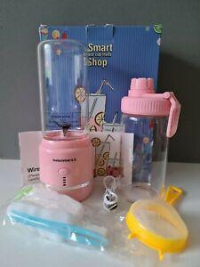 400ml Smart USB Juicer Cup Handheld Fruit Smoothie Maker Mini Blender Portable