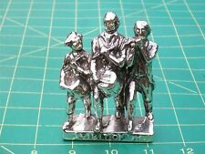 Vintage Spirit of '76 Patriotic Soldiers Statue Silver Plated Lead/Pewter