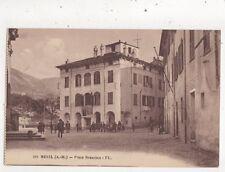 Breil Place Brancion France Vintage Postcard 972a