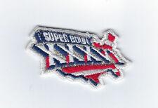 2001 Super Bowl XXXVI patch New England Patriots vs StL Rams SB 36 Tom Brady MVP