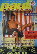 Programm 1995/96 FC St. Pauli - Kaiserslautern