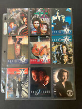 X Files Topps Promo Trading Cards  P1-6 1995